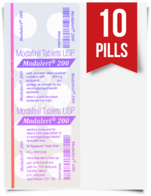 Modalert 200 mg x 10 Pills