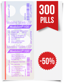 Modalert 100 mg x 300 Tablets
