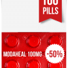 Modaheal 100 mg x 100 Tablets