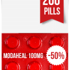 Modaheal 100 mg x 200 Tablets