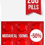Modaheal 100 mg x 200 Tablets