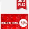 Modaheal 100 mg x 300 Tablets
