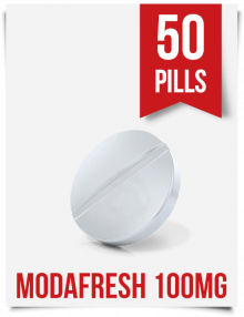 Modafresh 100mg x 50 Modafinil Tabs India