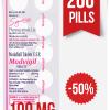 Modvigil 100 mg x 200 Modafinil Pills