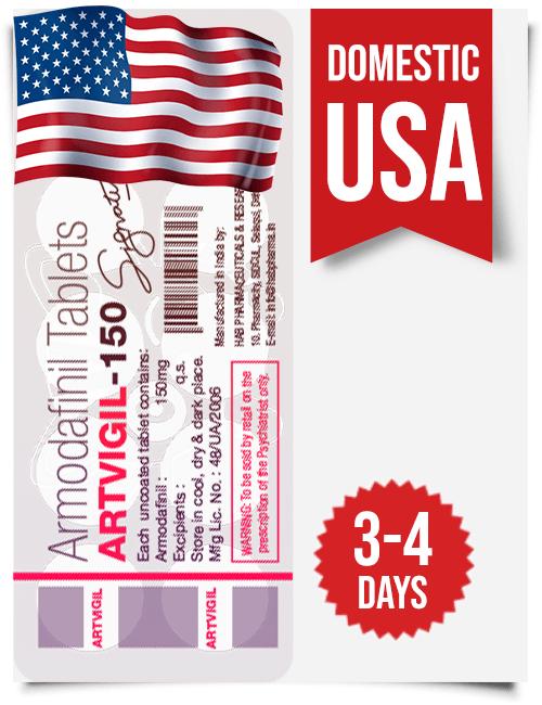 Artvigil Armodafinil Domestic USA Delivery